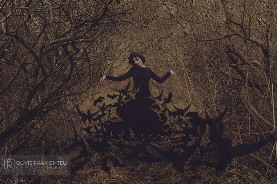 Photographie artistique réalisée avec la modèle Lizzie saint Septembre