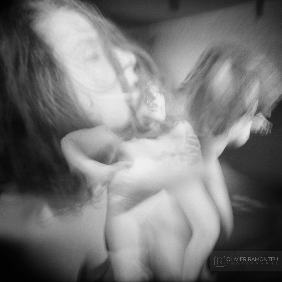 Photographie de danse réalisée avec la danseuse de Butoh Ines Kozic