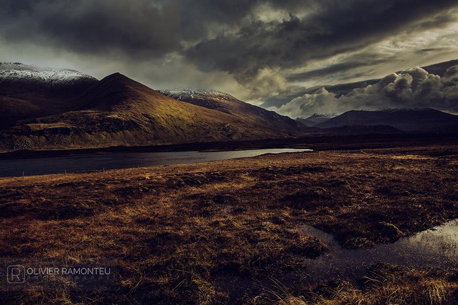 Sommets des Highlands en Ecosse