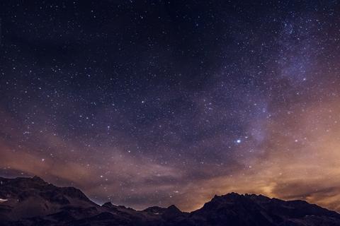 Photographie astronomique, ciel étoilé
